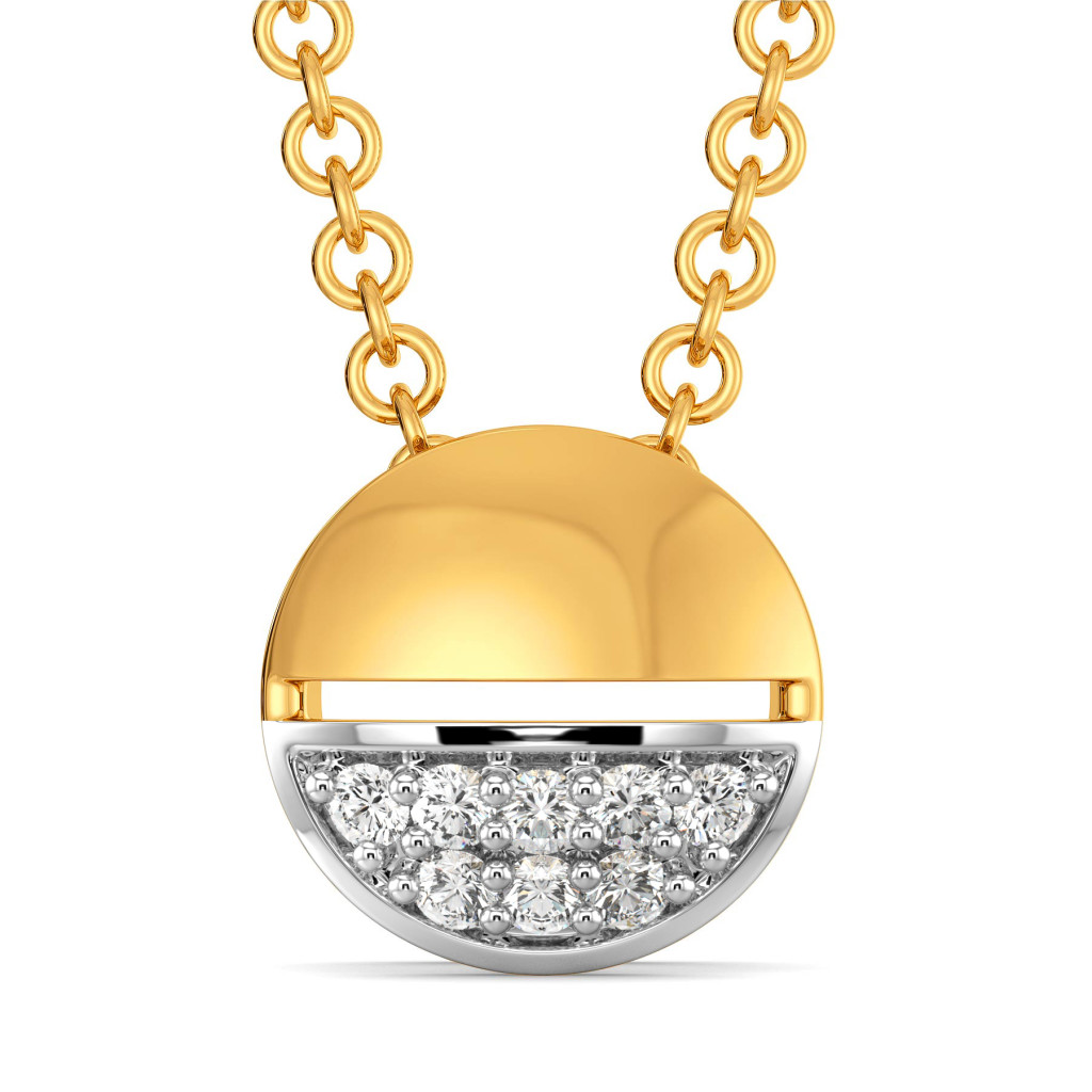Cercle Classique Diamond Pendants