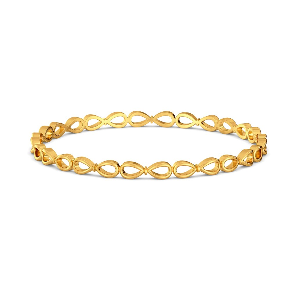 Knot Trot Gold Bangles