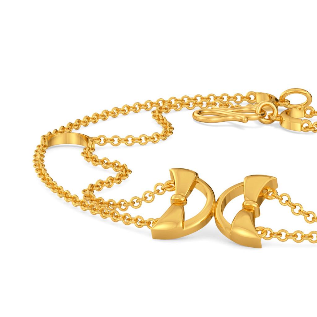 Round Abouts Gold Bracelets