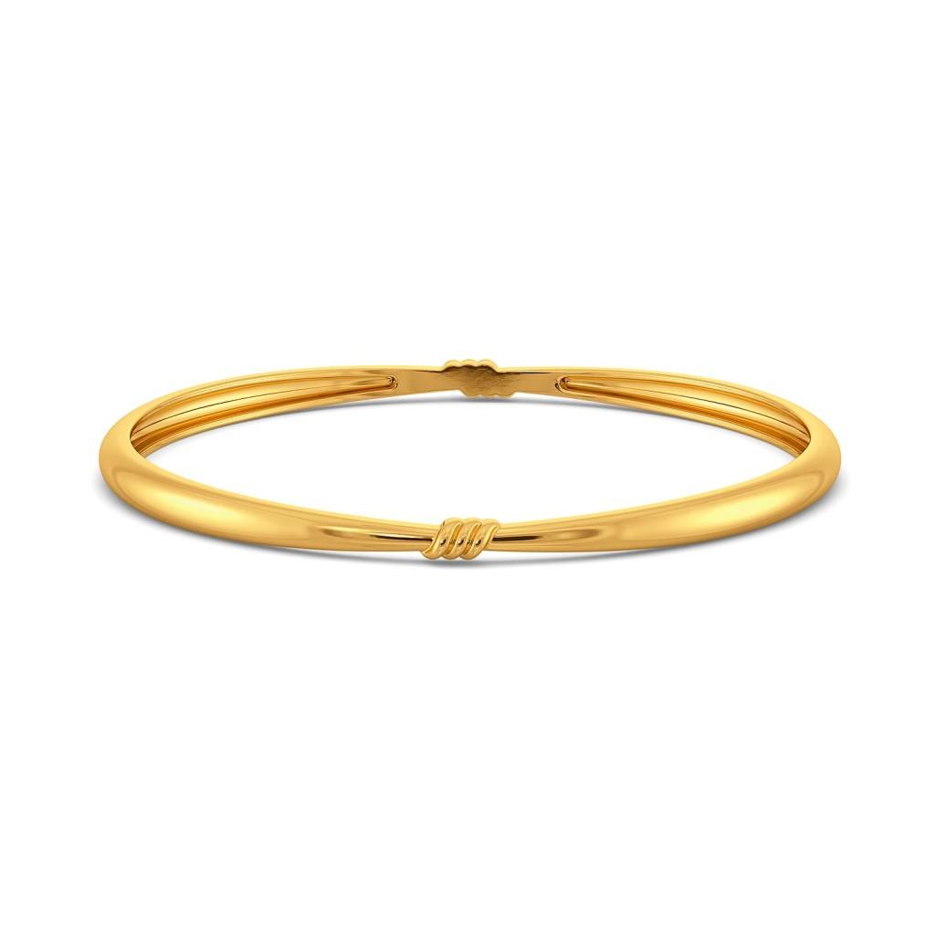 Saint Bows Gold Bangles