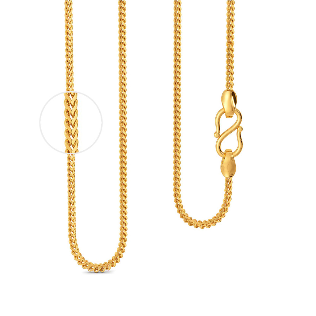 22kt Double Link Chain Gold Chains