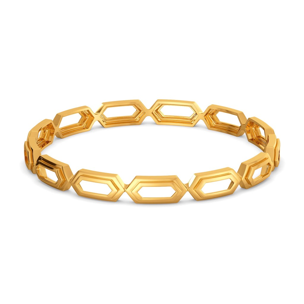 Three Piece Gold Bangles