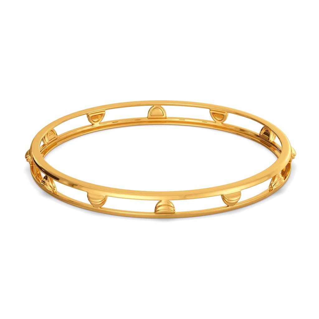 Suit for Cosmos Gold Bangles