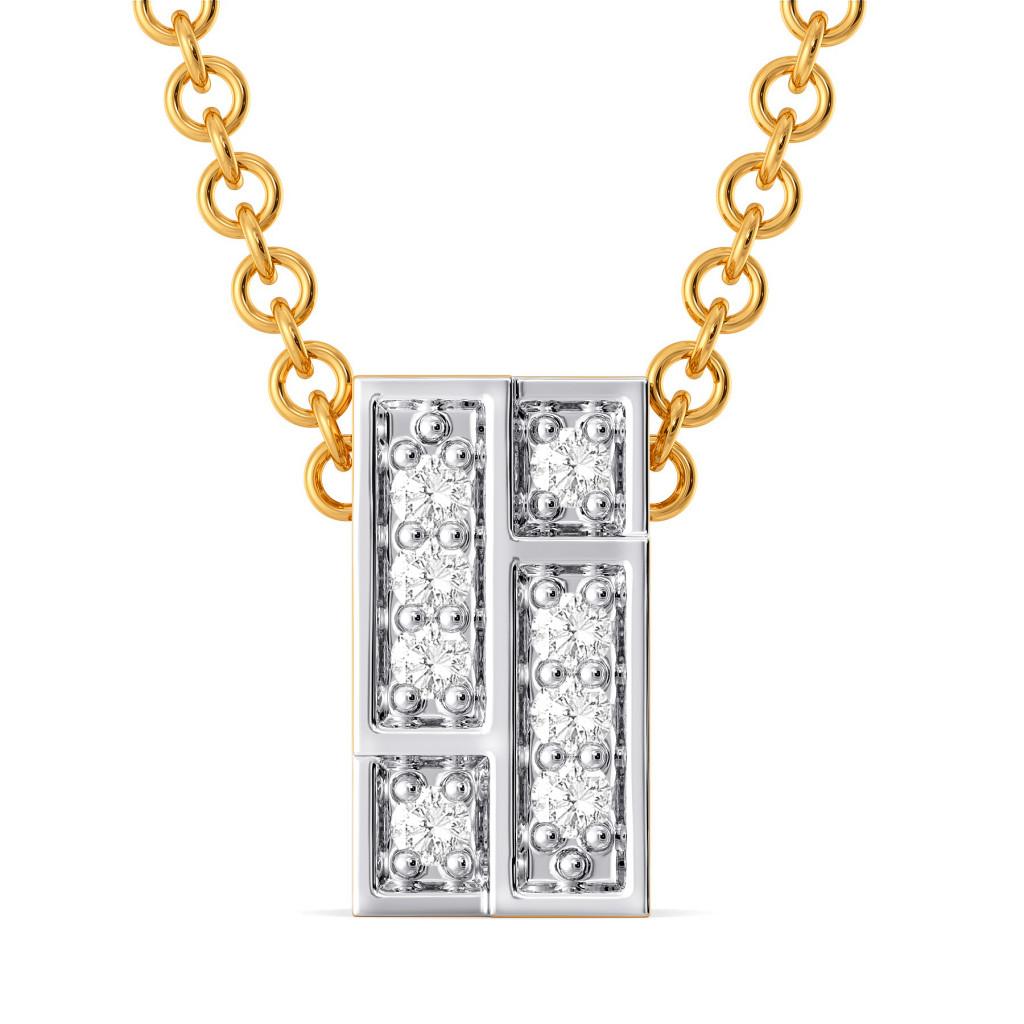 Check Mate Diamond Pendants