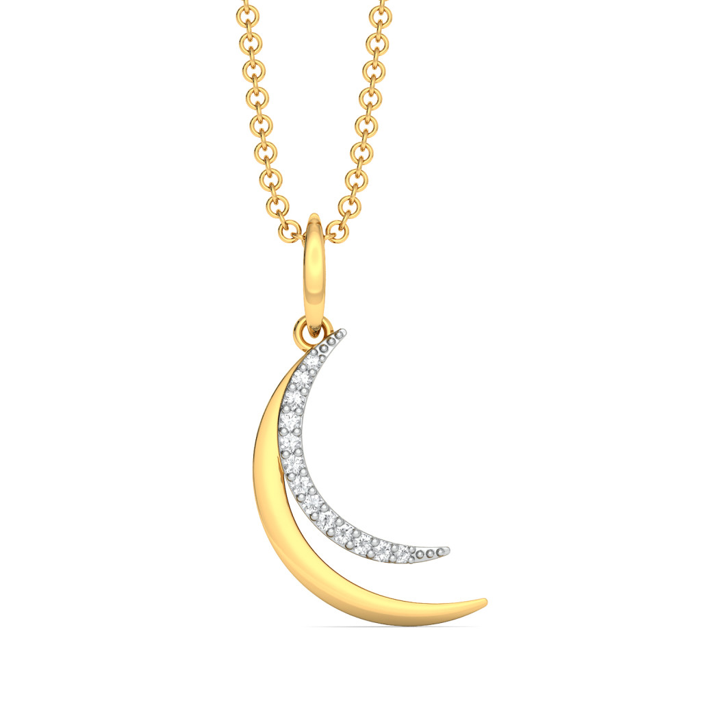Moondance Diamond Pendants