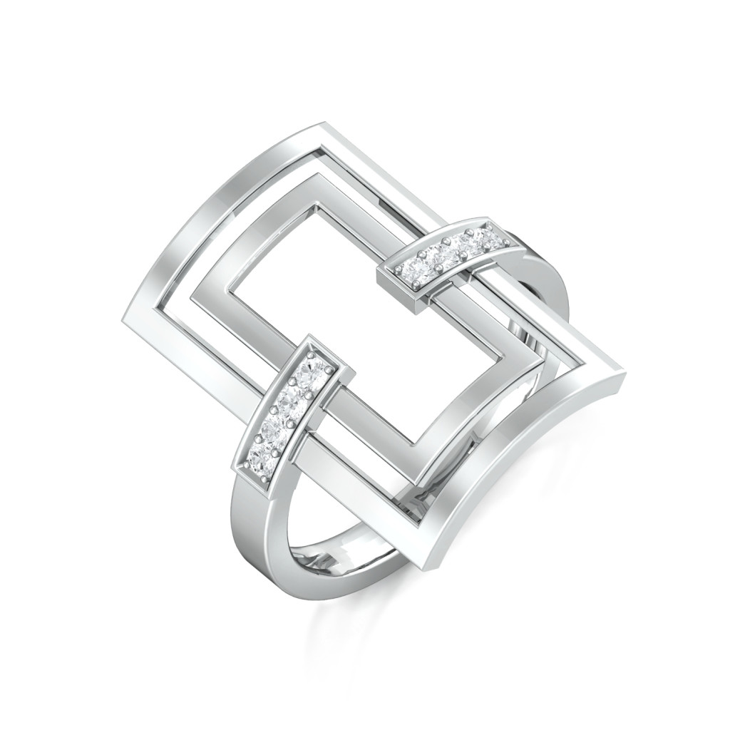 Frame of Mind Diamond Rings