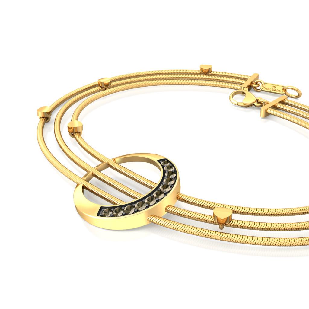 Dark Moon Gemstone Bracelets