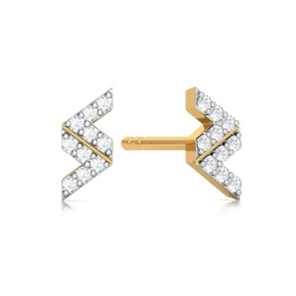 Double Vision Diamond Earrings