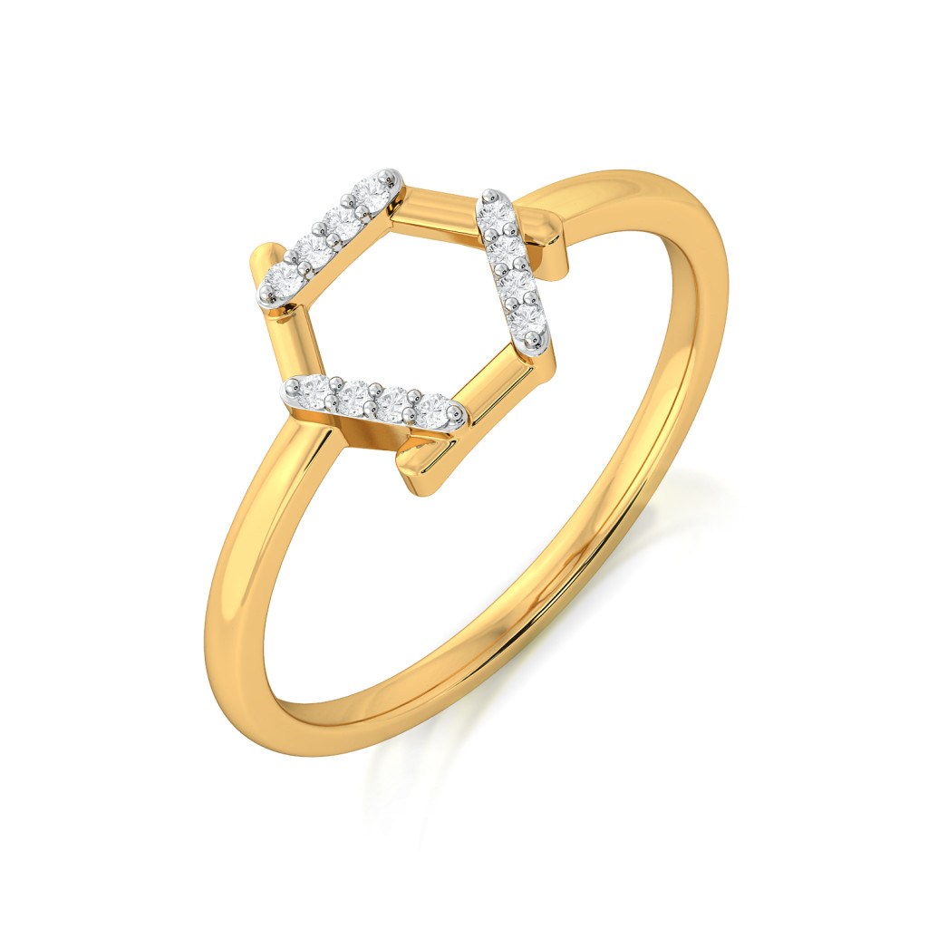 Hexa Fab Diamond Rings