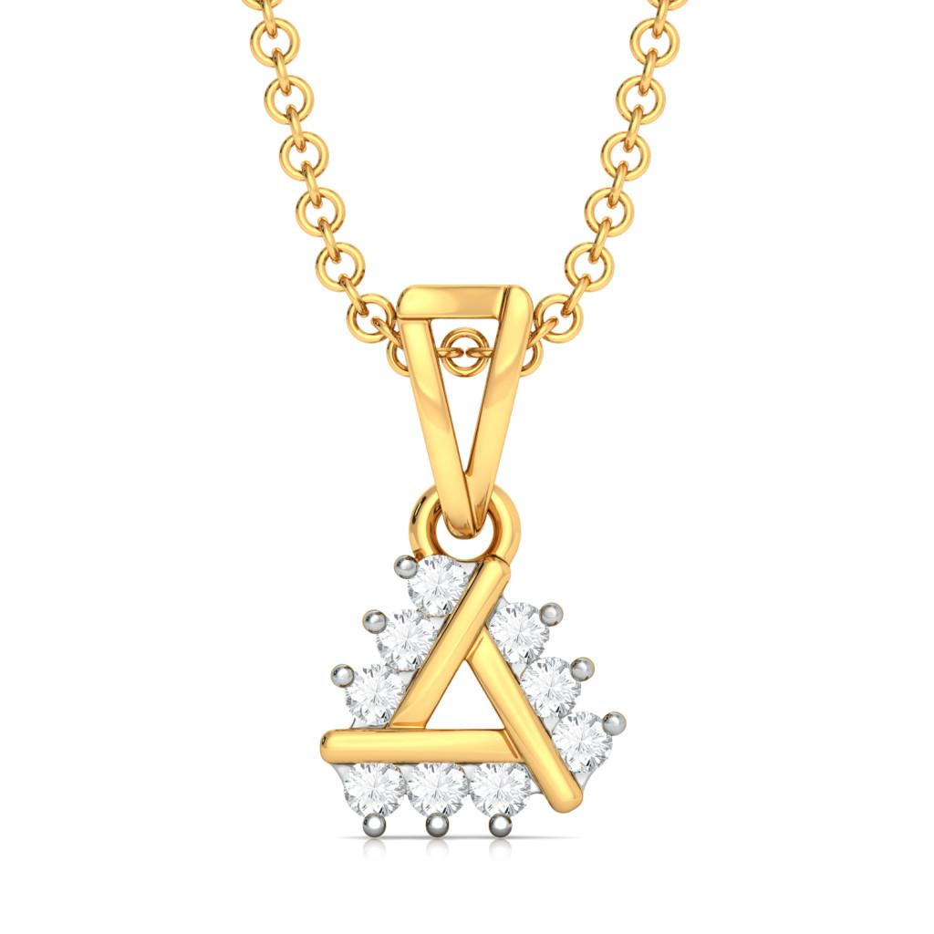 Triple Ace Diamond Pendants