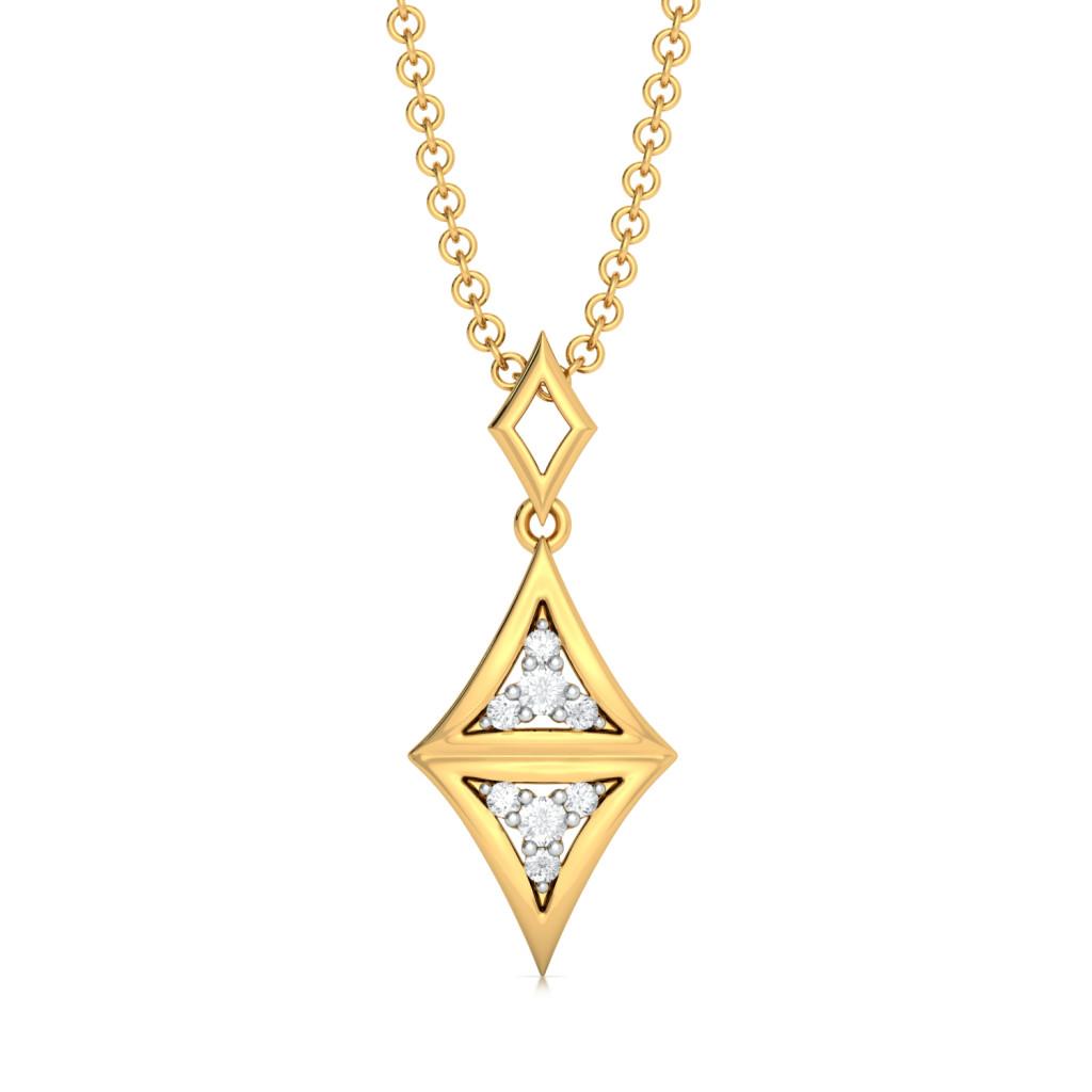 Doppelganger  Diamond Pendants