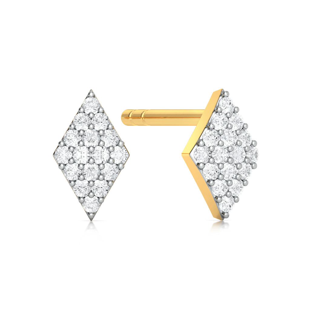 Equally Fab Diamond Earrings
