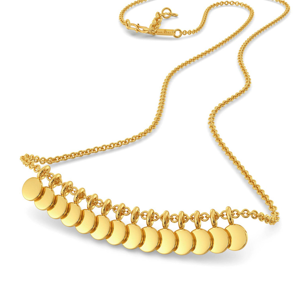 Corvetta Gold Necklaces
