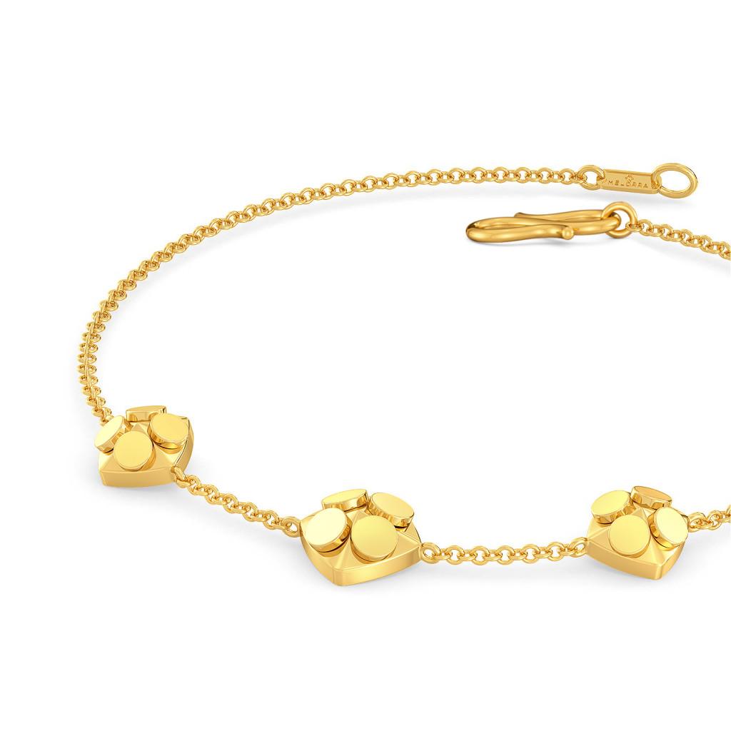 The Trance Dance Gold Bracelets
