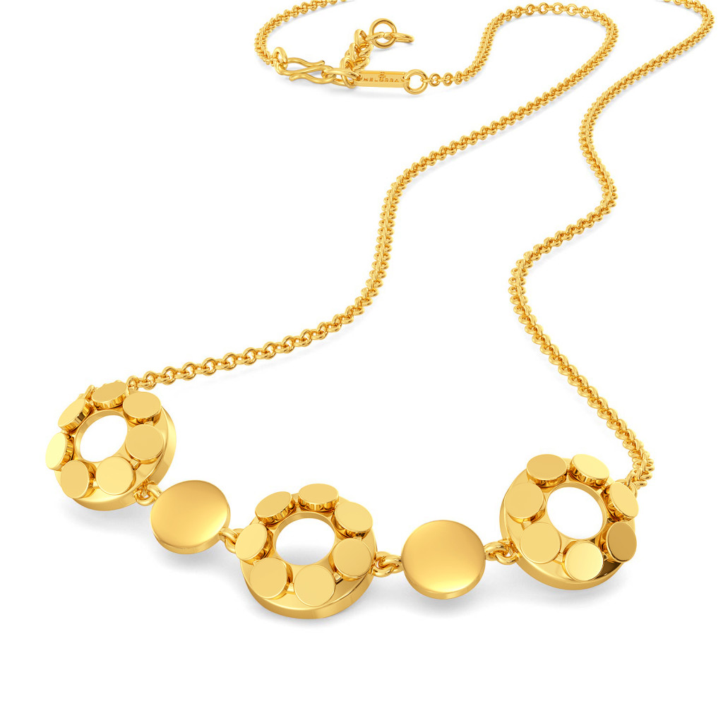 A Trinket Junket Gold Necklaces