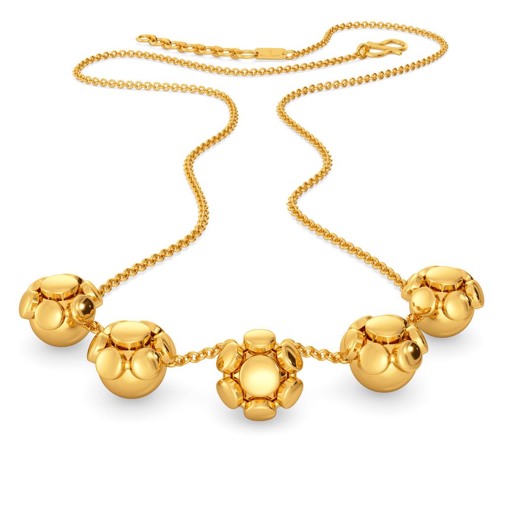Prove Da Groove  Gold Necklaces