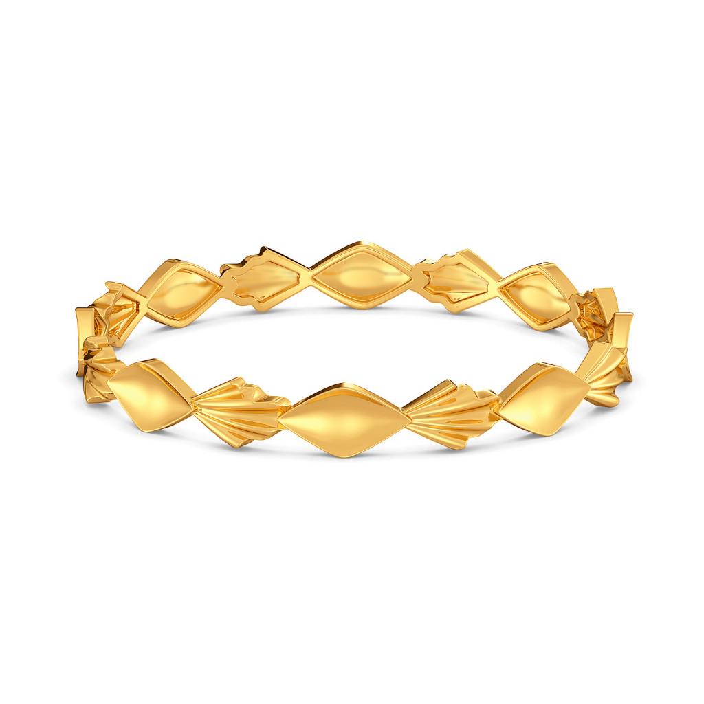Chill Frill Gold Bangles