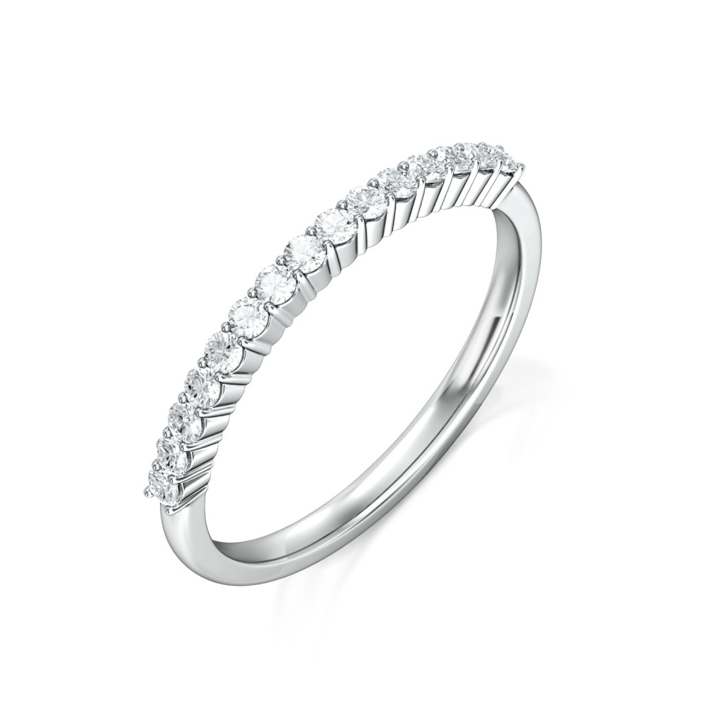 Line of Sparkle Diamond Rings