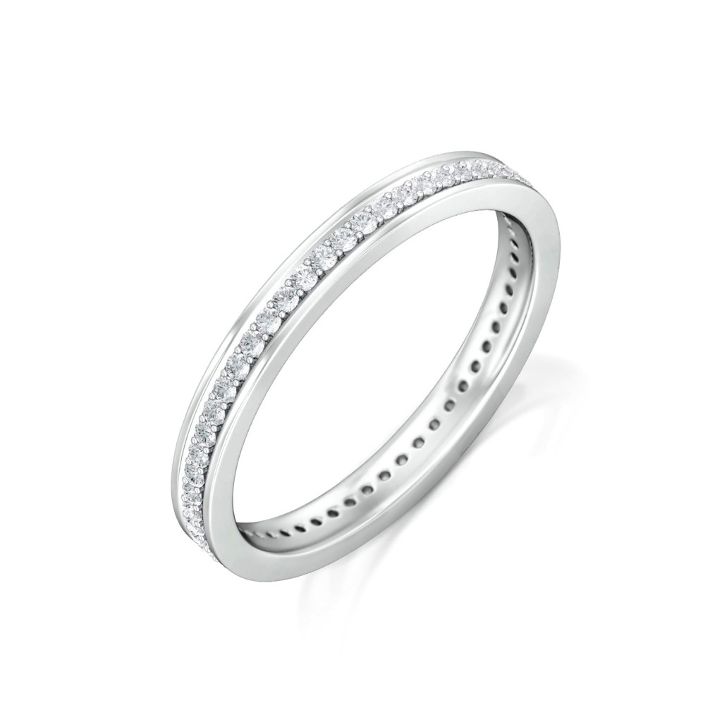 Fine Line Diamond Rings