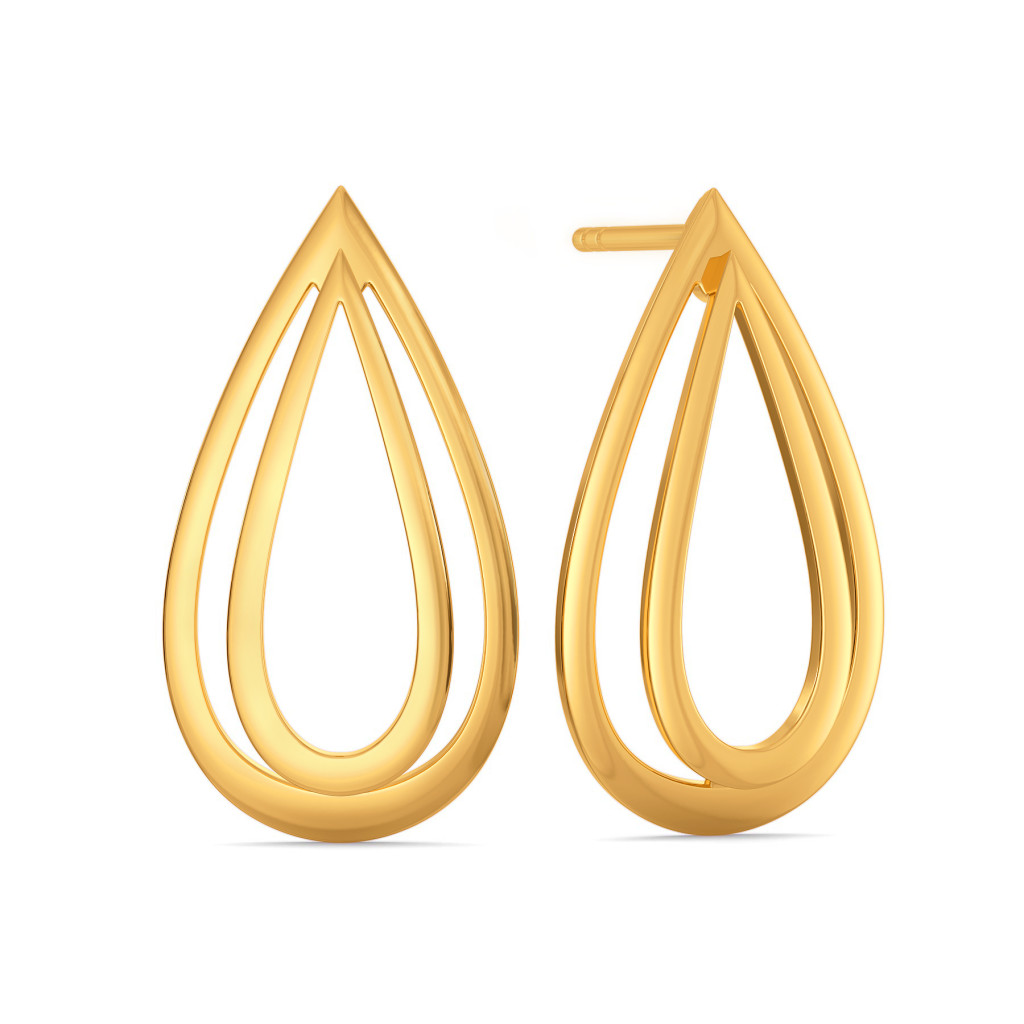 Volume Vision Gold Earrings