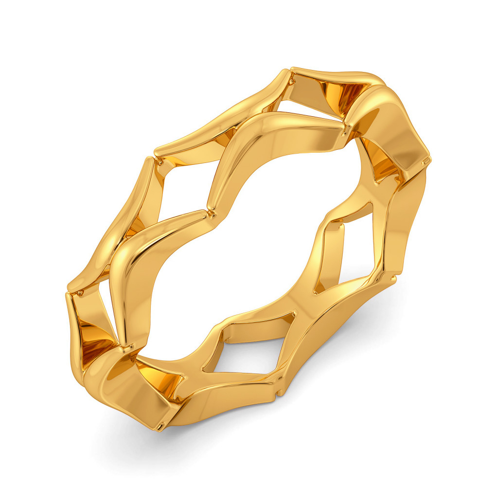 Bohemian Nets Gold Rings