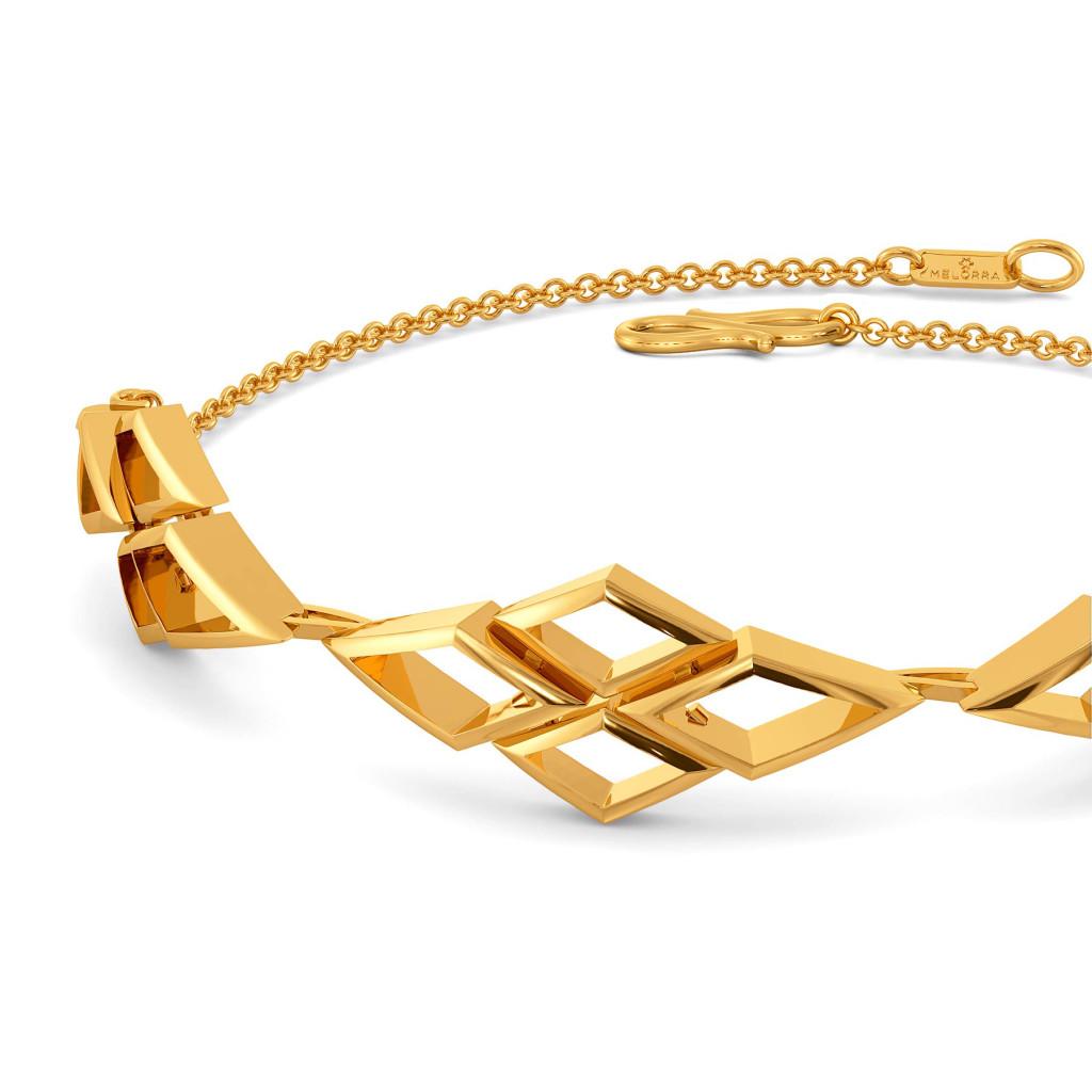 The Mesh Mix Gold Bracelets