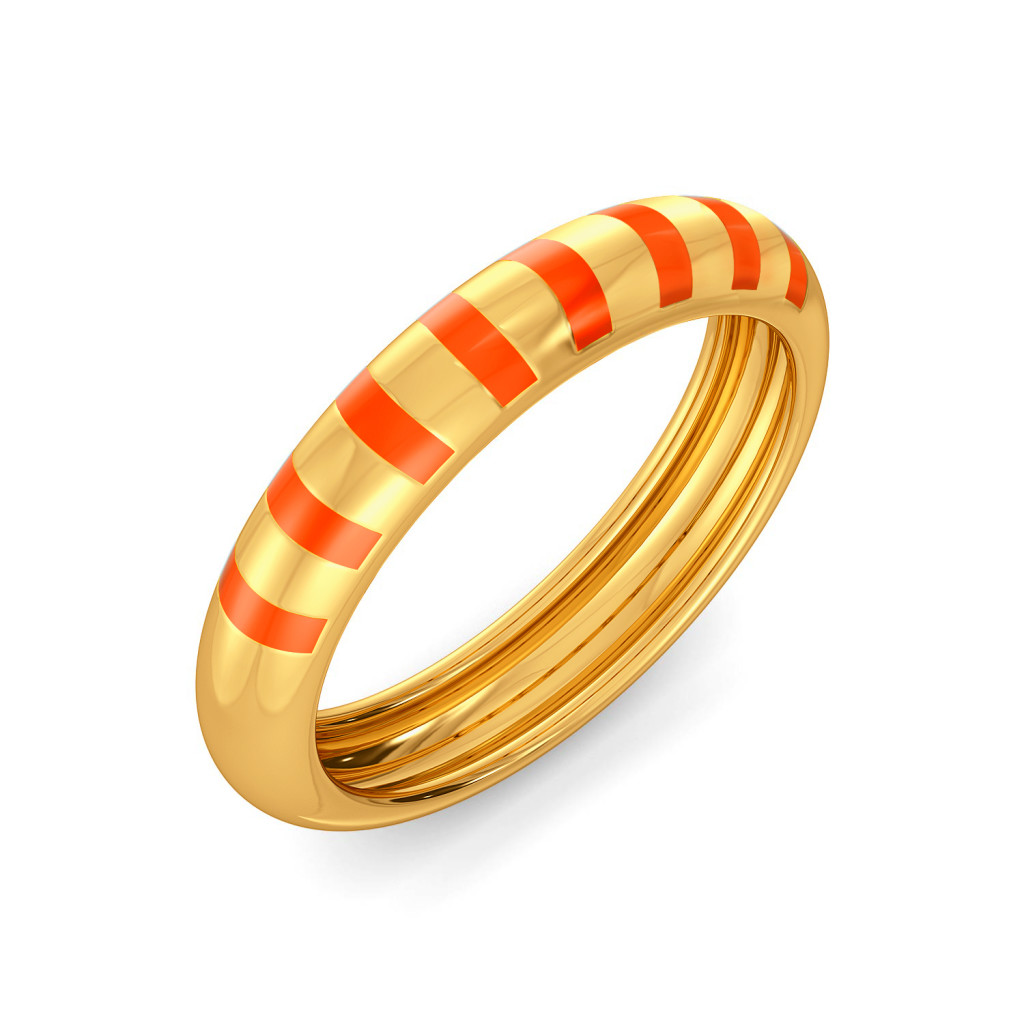 Tangy Angie Gold Rings