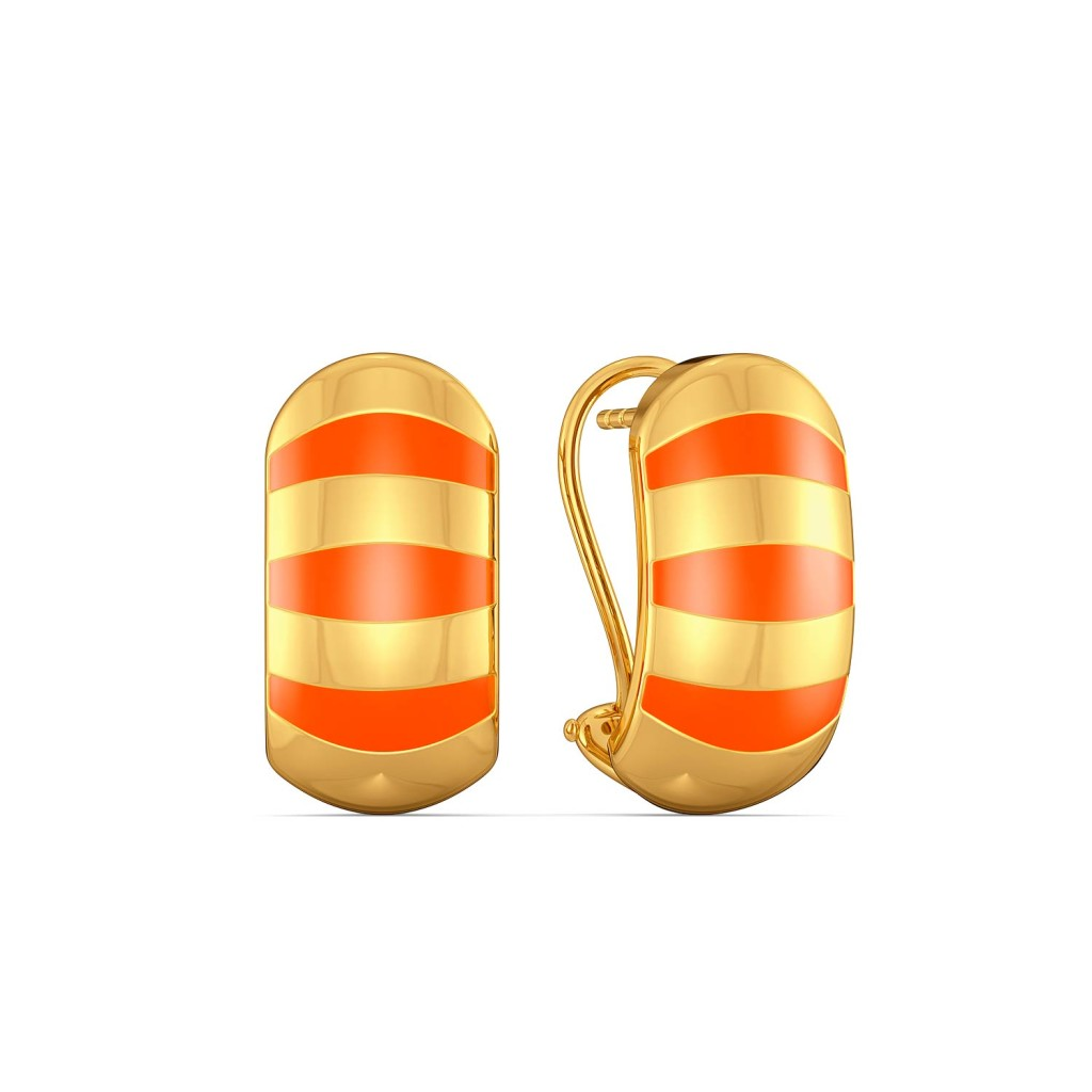 Tangy Angie Gold Earrings