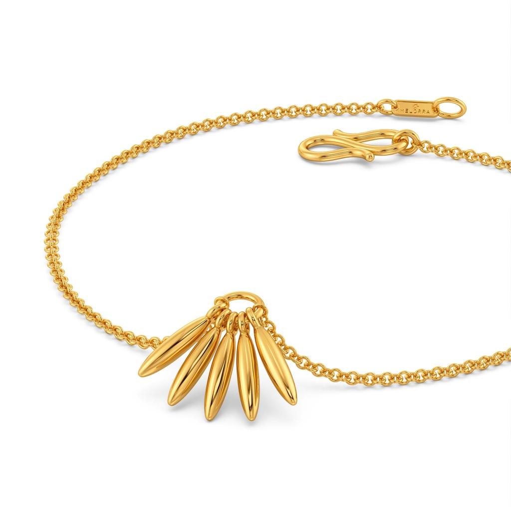 Fringe frenzy Gold Bracelets