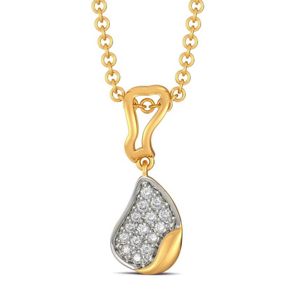 Floral Finds Diamond Pendants