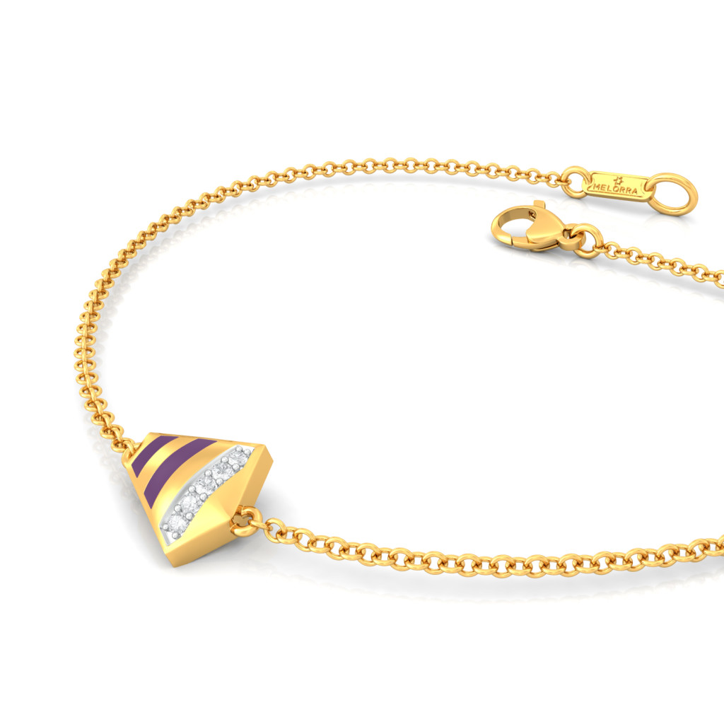 Belle the Cat Diamond Bracelets