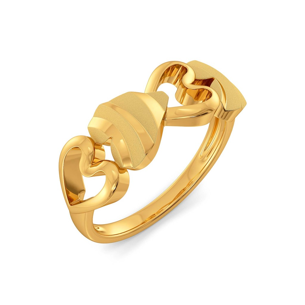 Wild Instinct Gold Rings