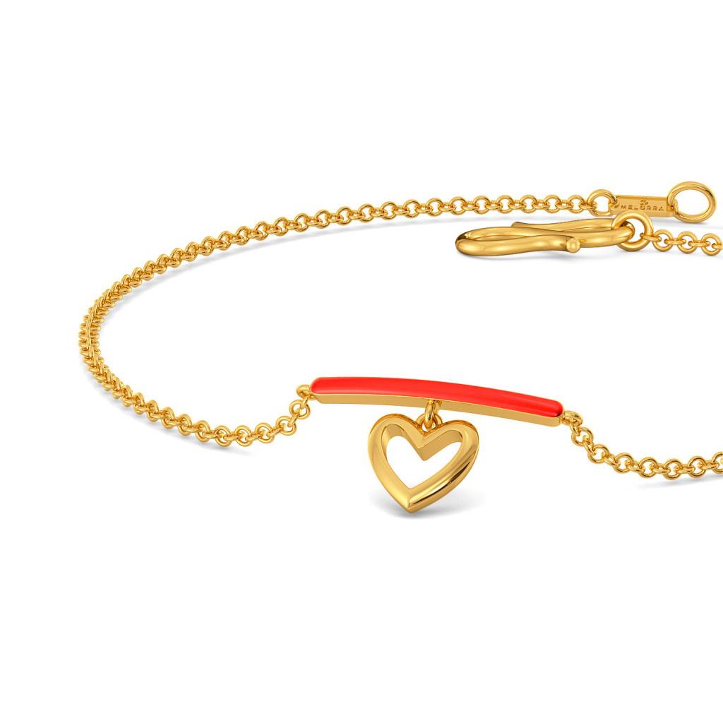 Scarlet Heart Gold Bracelets
