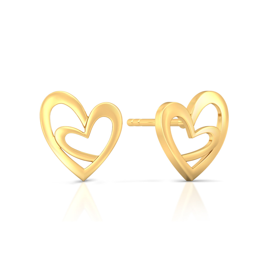 Mills & Miles Gold Earrings