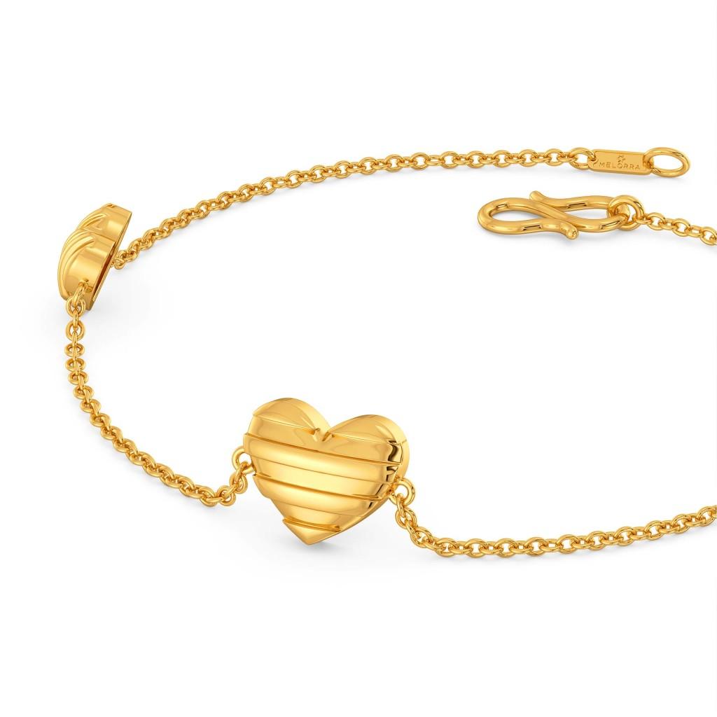 (Un)tainted Love Gold Bracelets