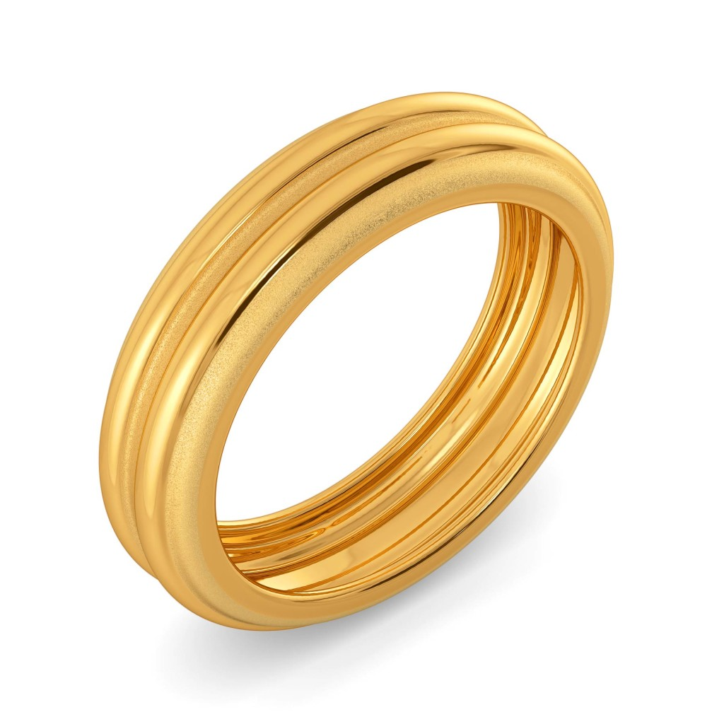 Refined Refresh Gold Rings