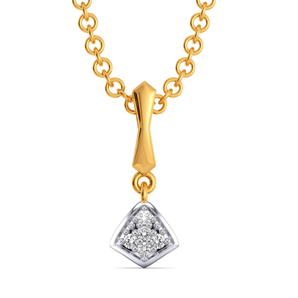 Bold Behold Diamond Pendants