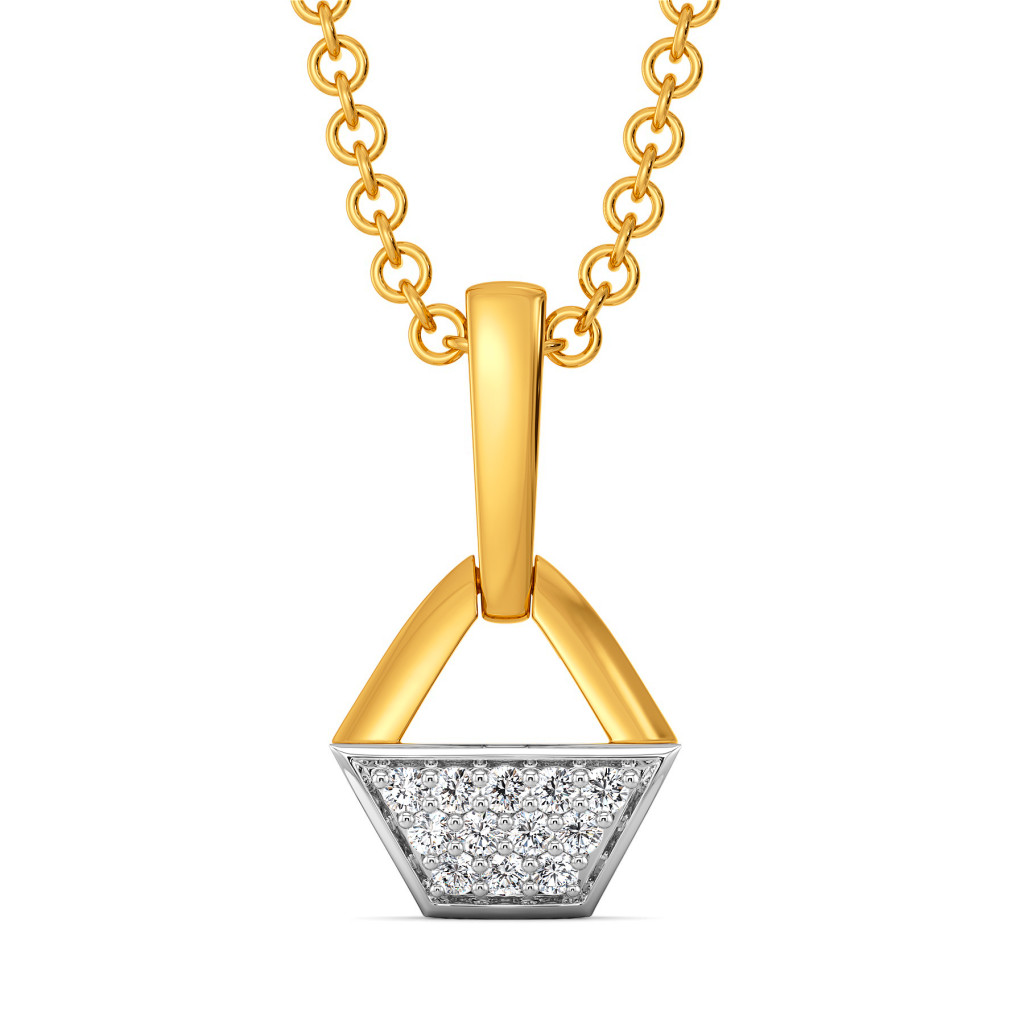 Root for Mute Diamond Pendants