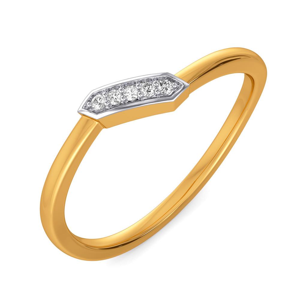 Bare N Bold Diamond Rings