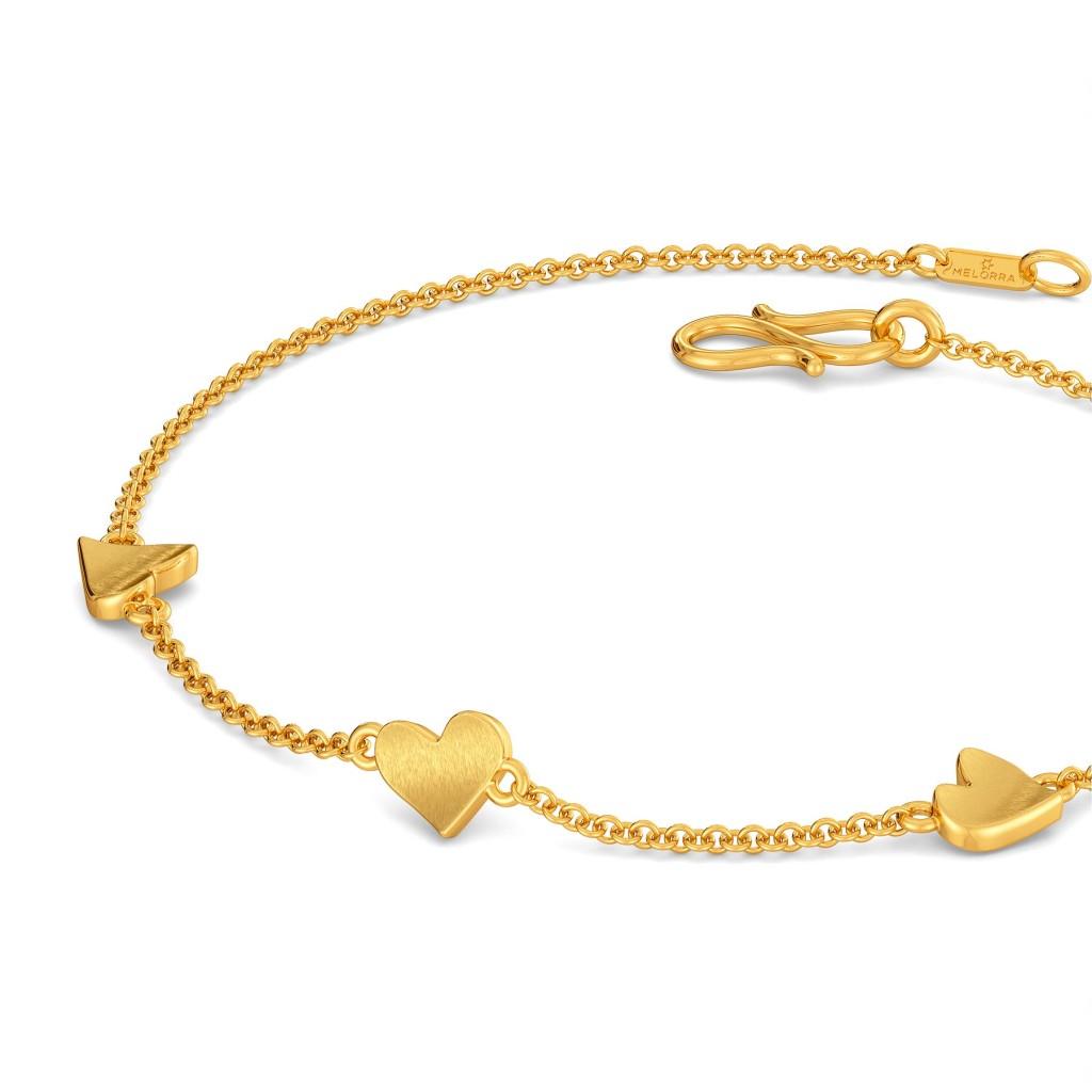 Love Me Tender Gold Bracelets