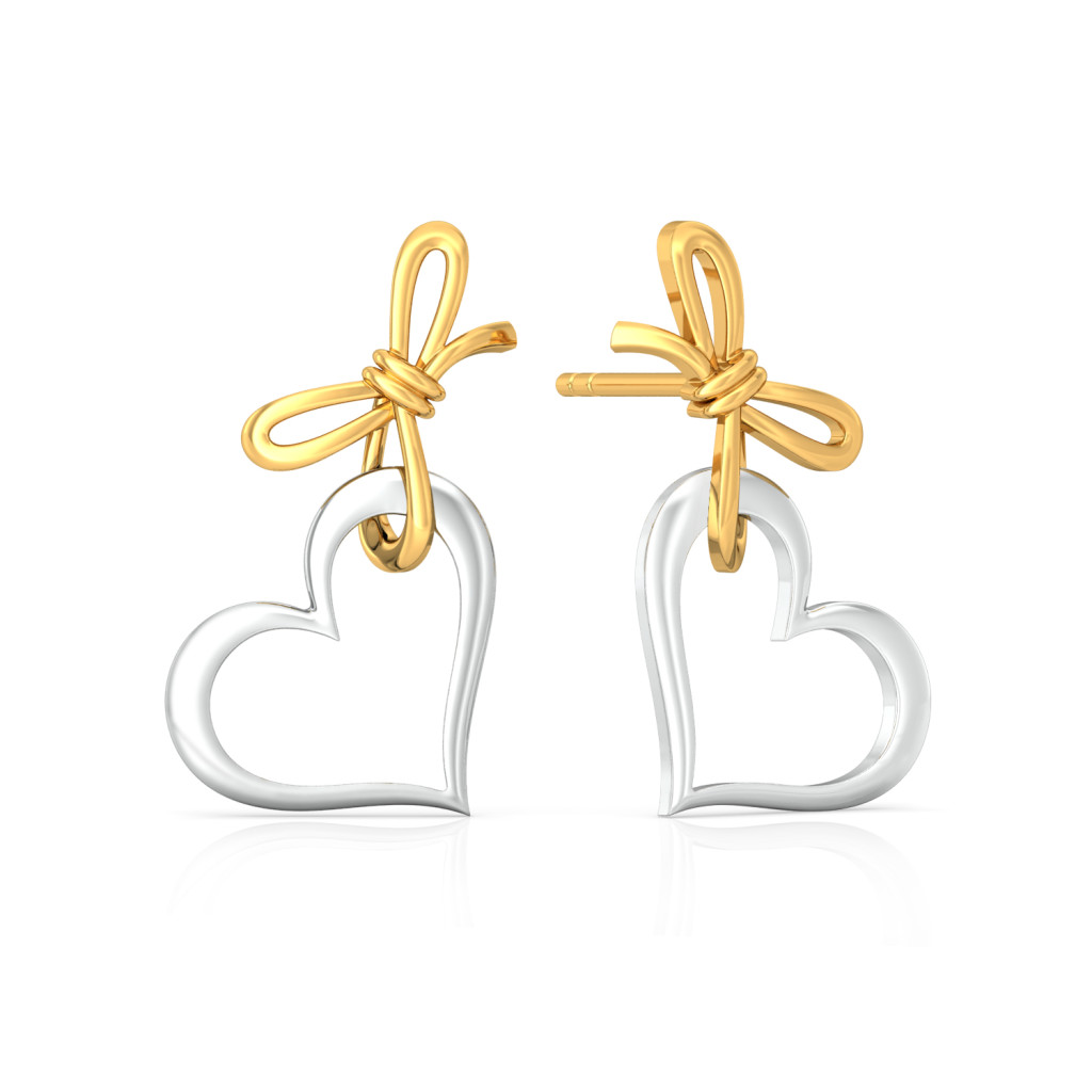 My Valentine Gold Earrings