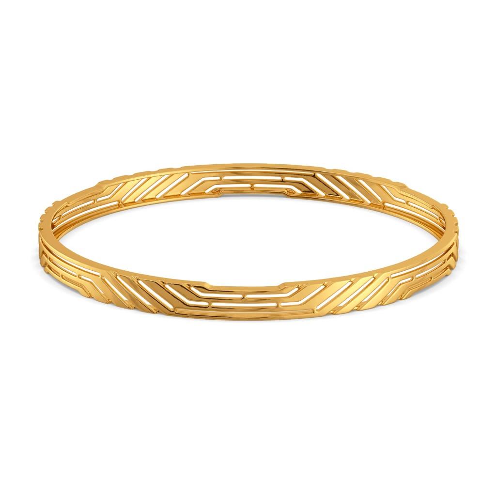 Bold Sheers Gold Bangles