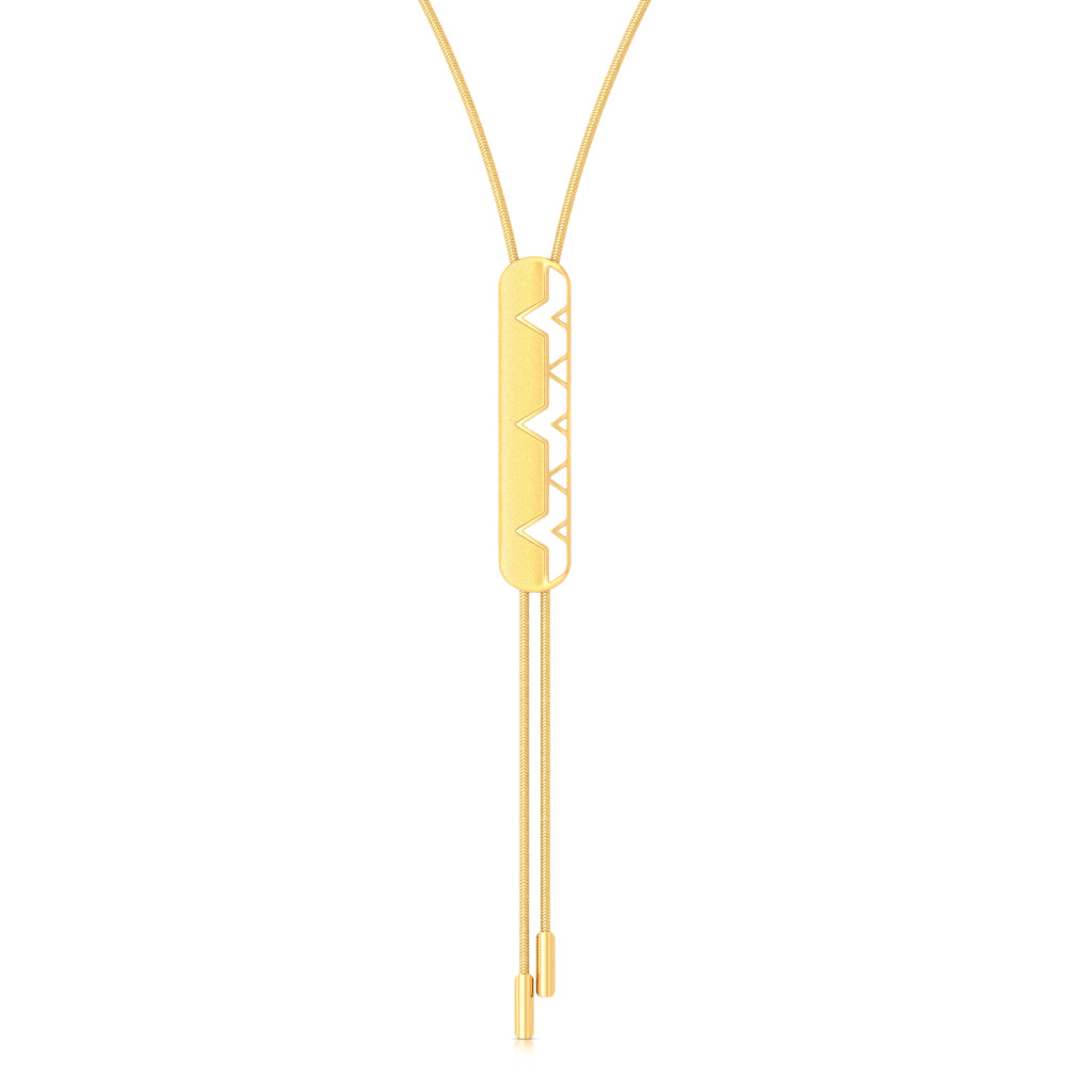 Interlace Gold Necklaces