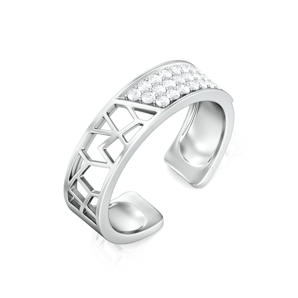 Polygon Mesh Diamond Rings