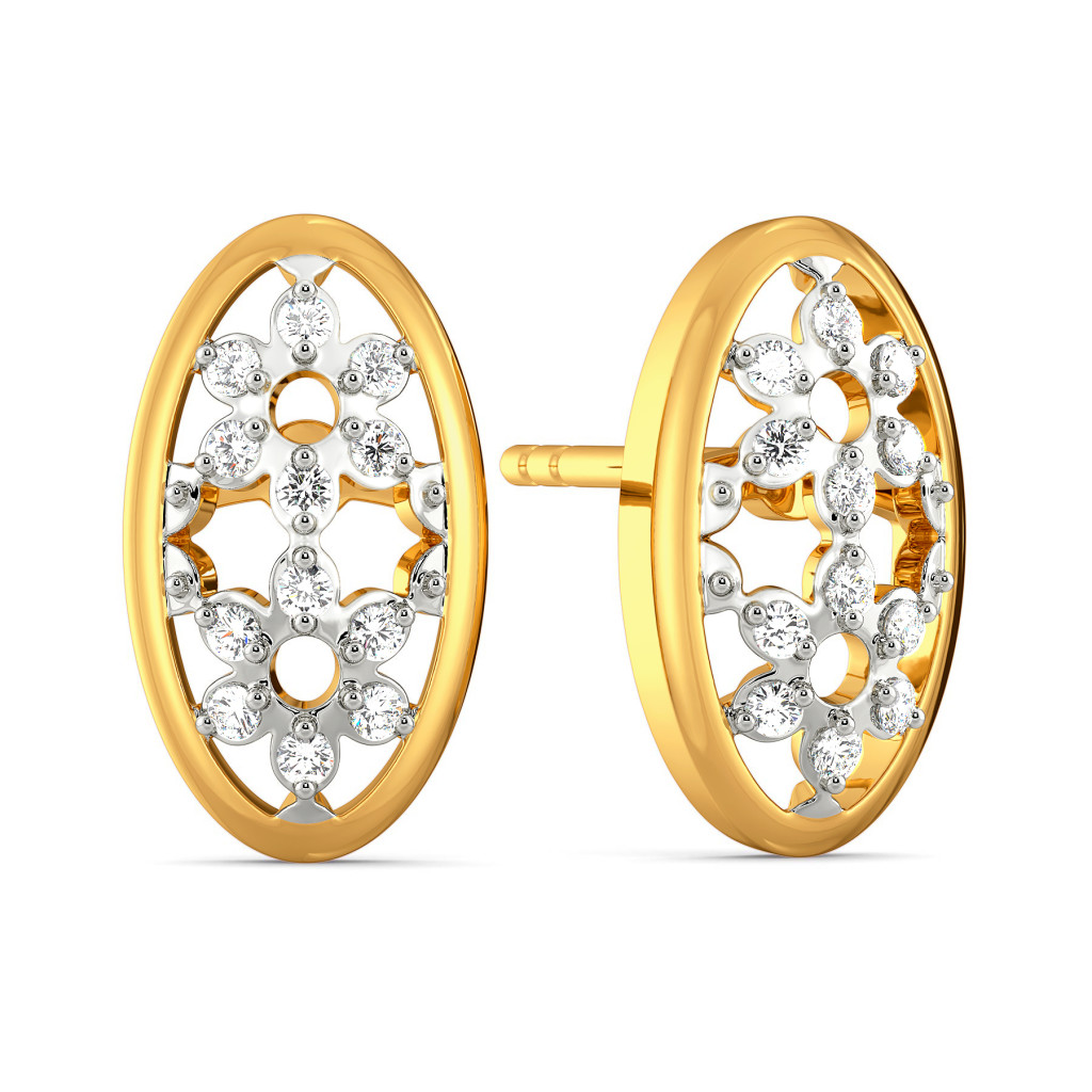 Lace Replay Diamond Earrings