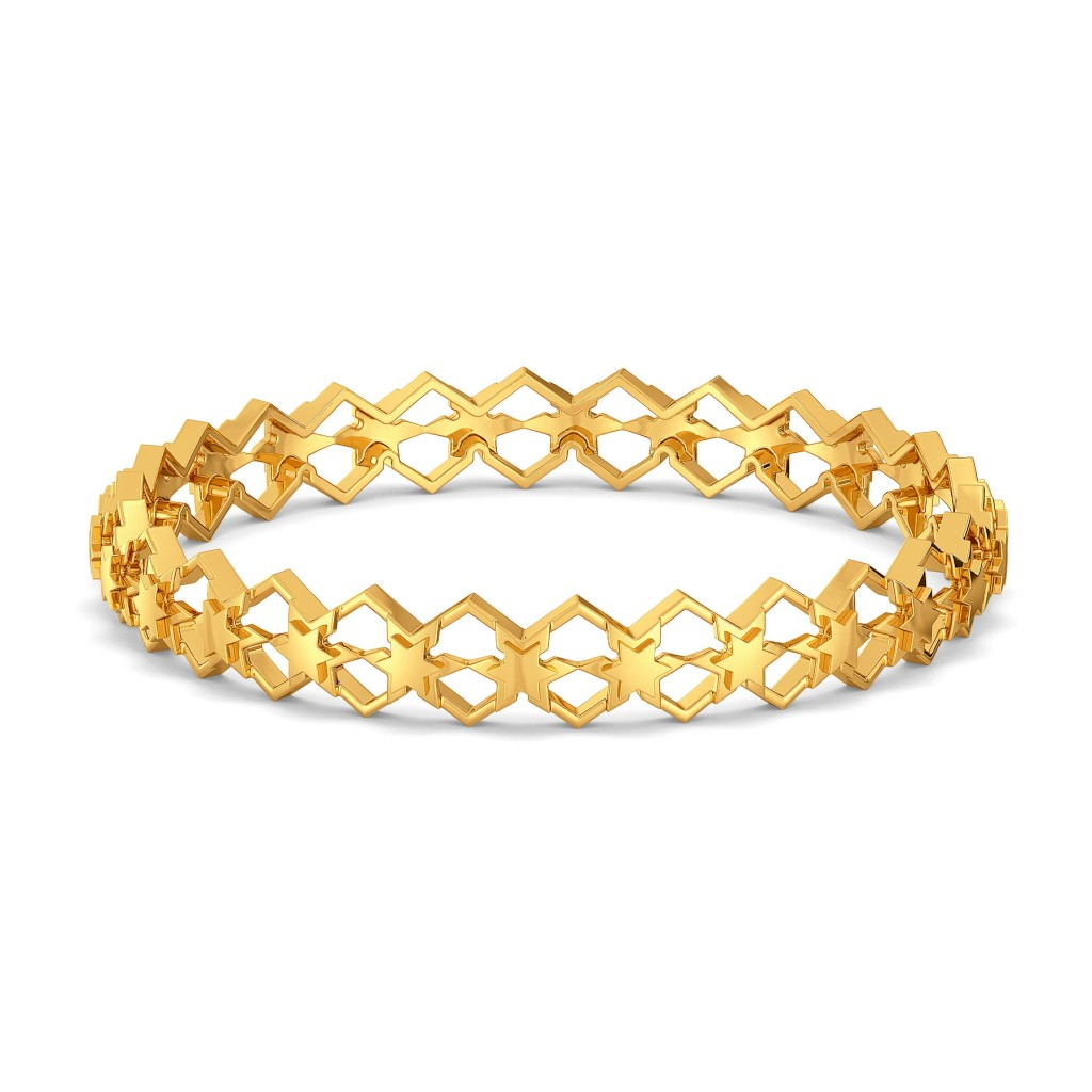 Star Afar Gold Bangles