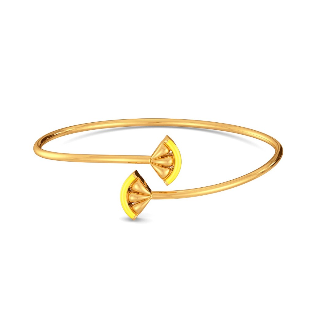 Citrus Limetta  Gold Bangles