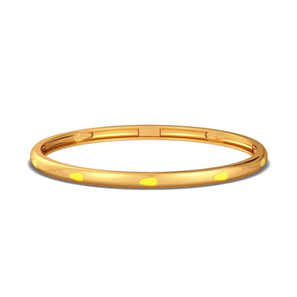 Fusion Fruit Gold Bangles