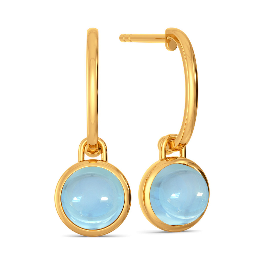 Alice Blue   Gemstone Earrings