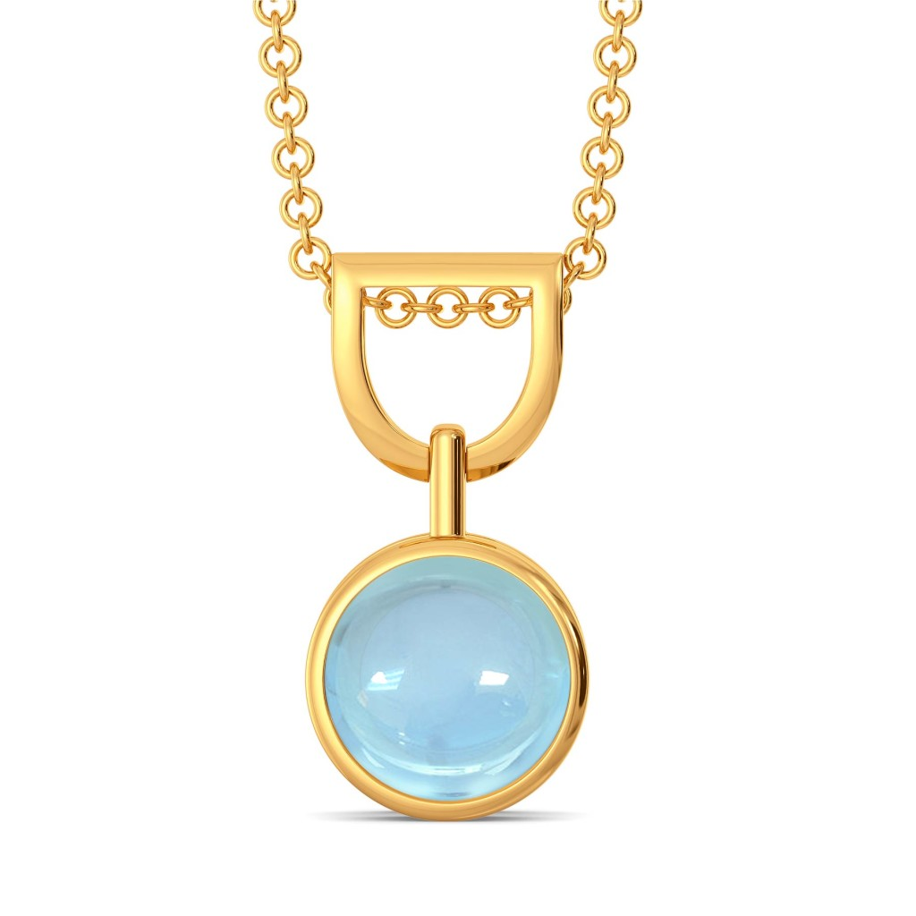 Alice Blue   Gemstone Pendants